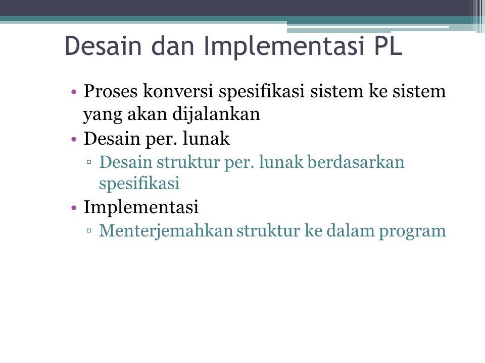 Desain dan Implementasi PL