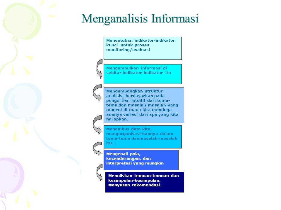 Menganalisis Informasi