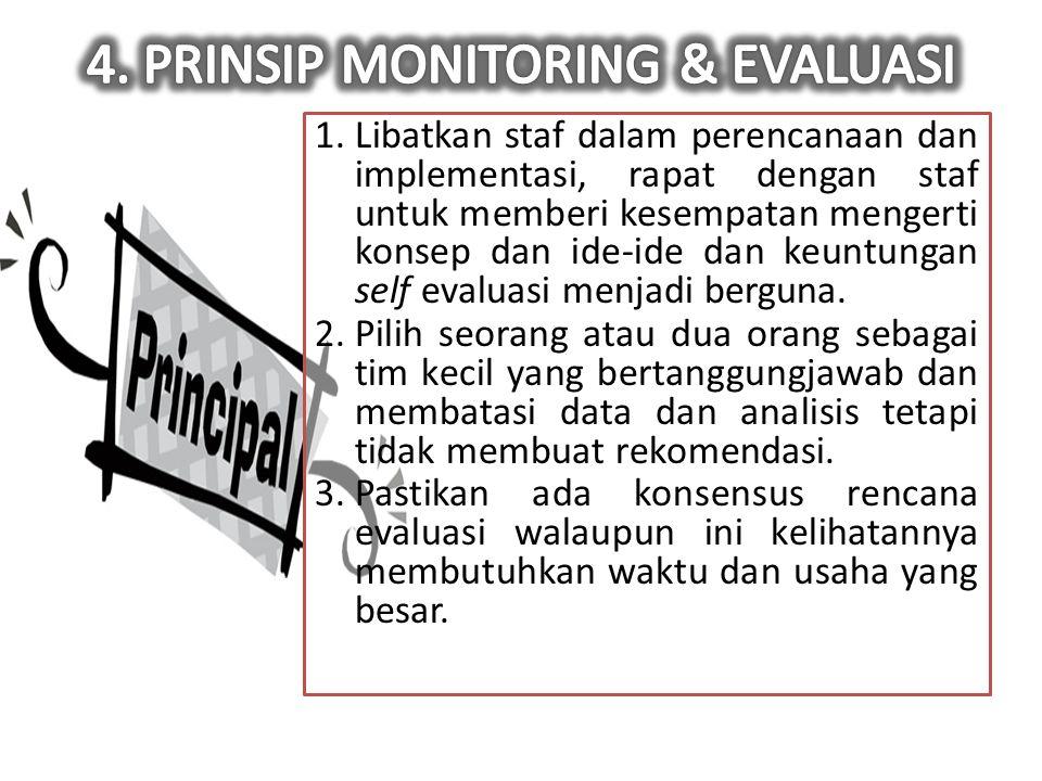 4. PRINSIP MONITORING & EVALUASI
