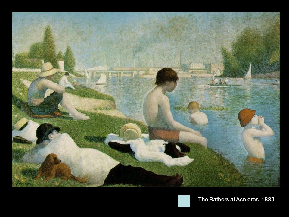The Bathers at Asnieres. 1883