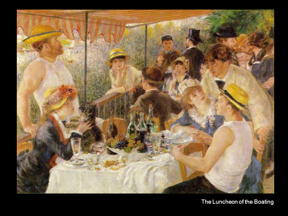 The Luncheon of the Boating