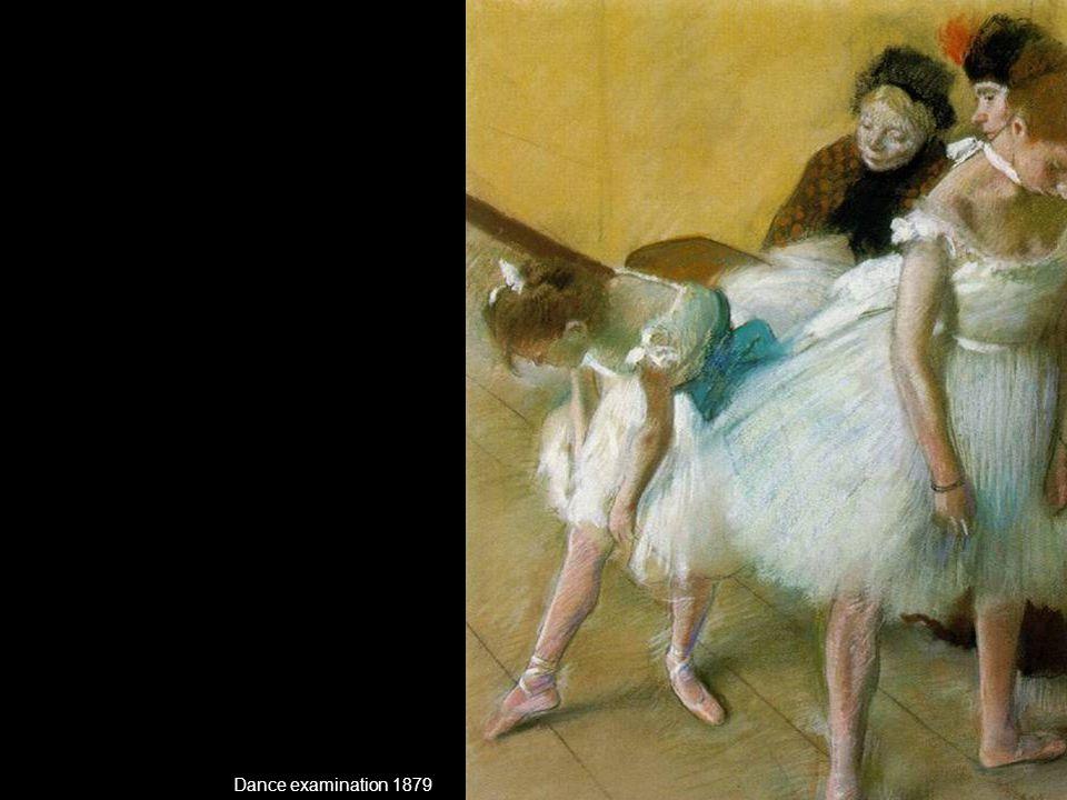 Dance examination 1879