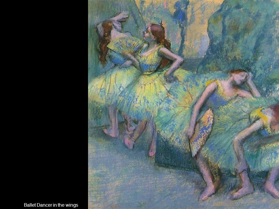 Ballet Dancer in the wings