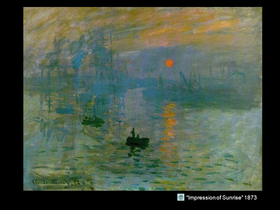Impression of Sunrise 1873