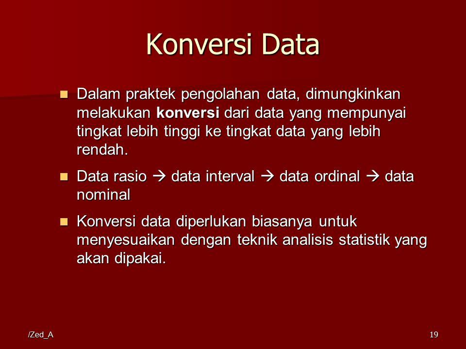 Konversi Data