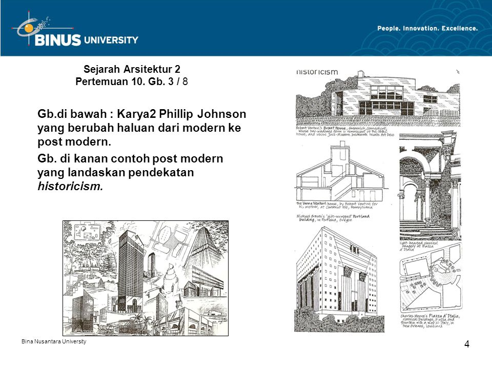 Sejarah Arsitektur 2 Pertemuan 10. Gb. 3 / 8