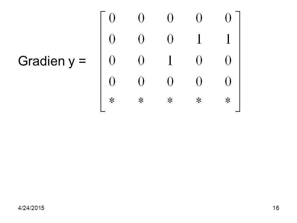 Gradien y = 4/14/2017