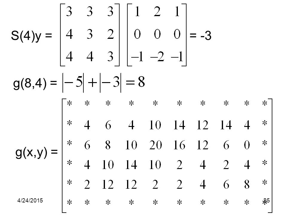 S(4)y = = -3 g(8,4) = g(x,y) = 4/14/2017