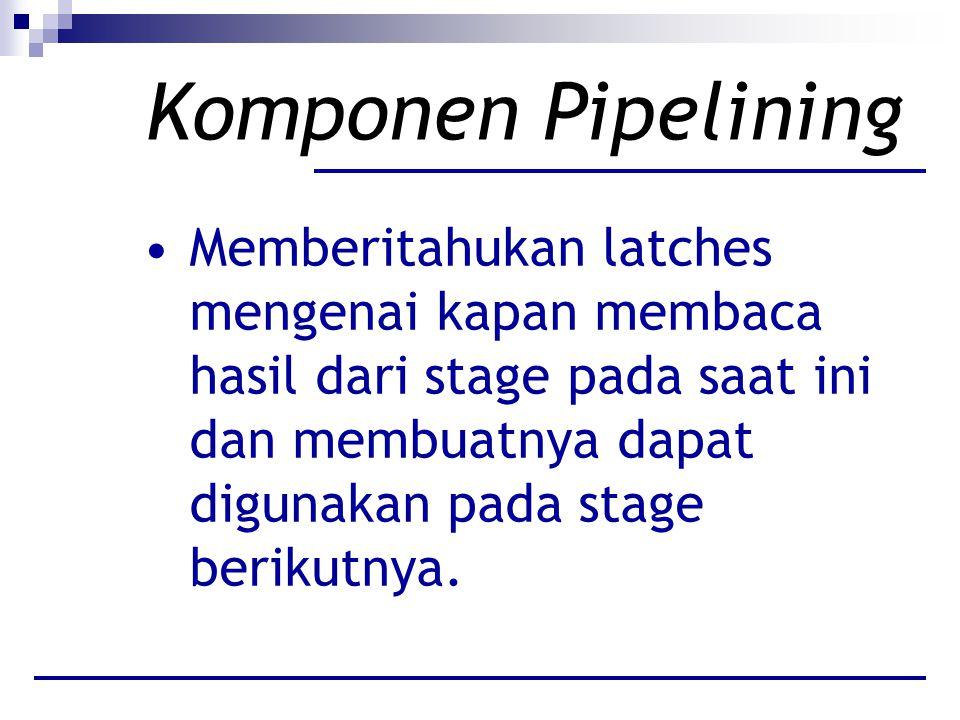 Komponen Pipelining