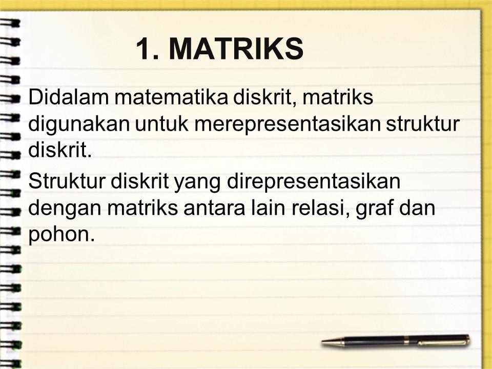 1. MATRIKS