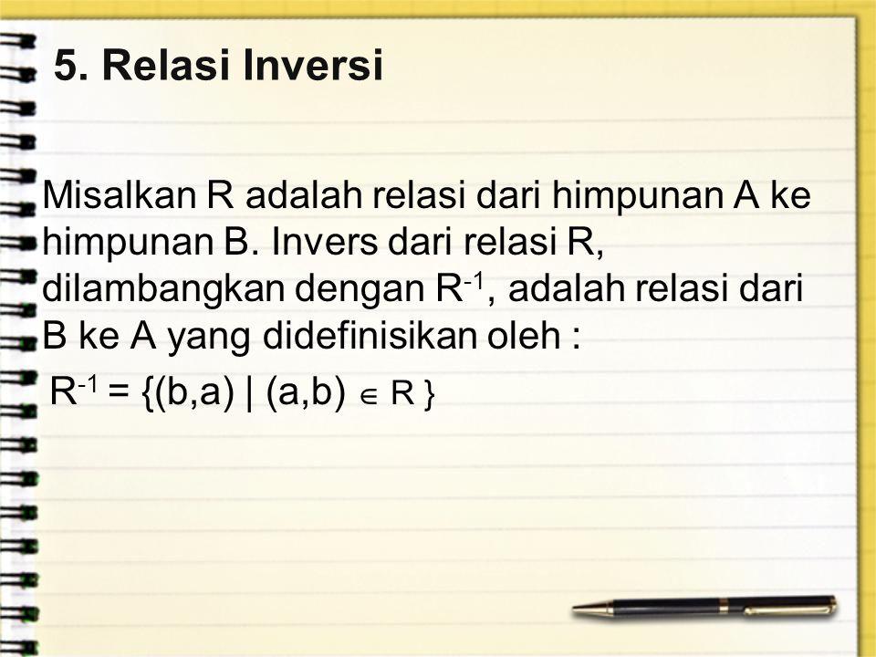5. Relasi Inversi