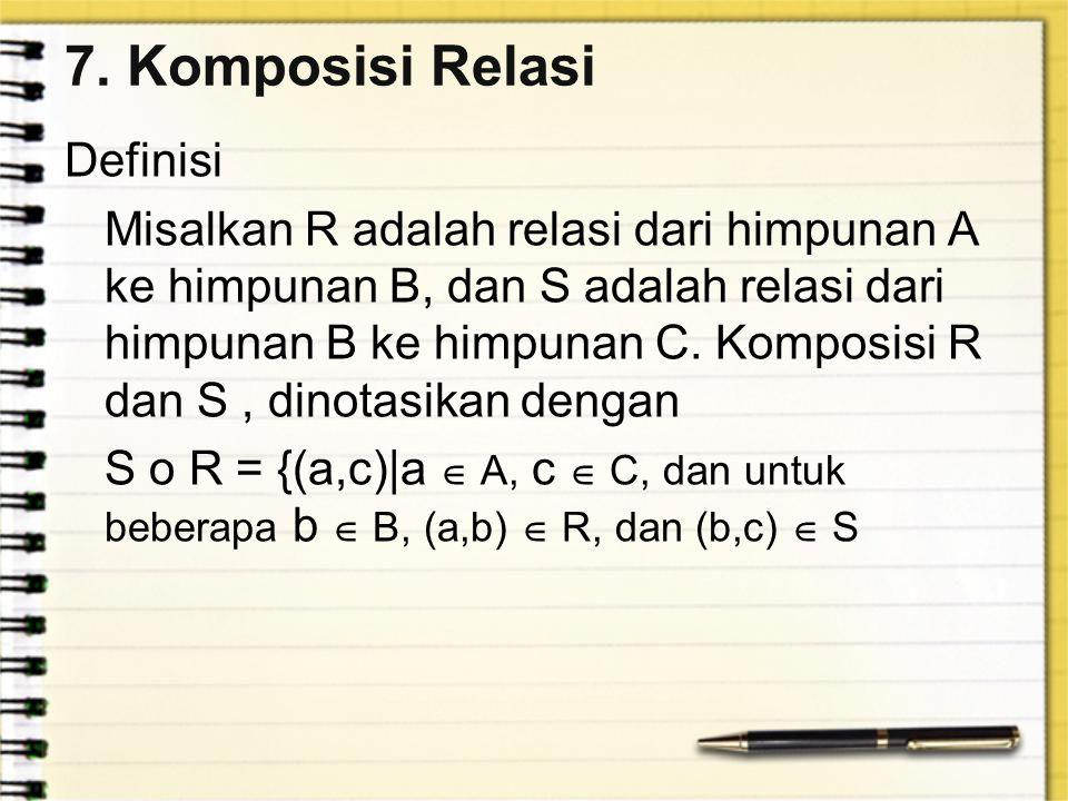7. Komposisi Relasi