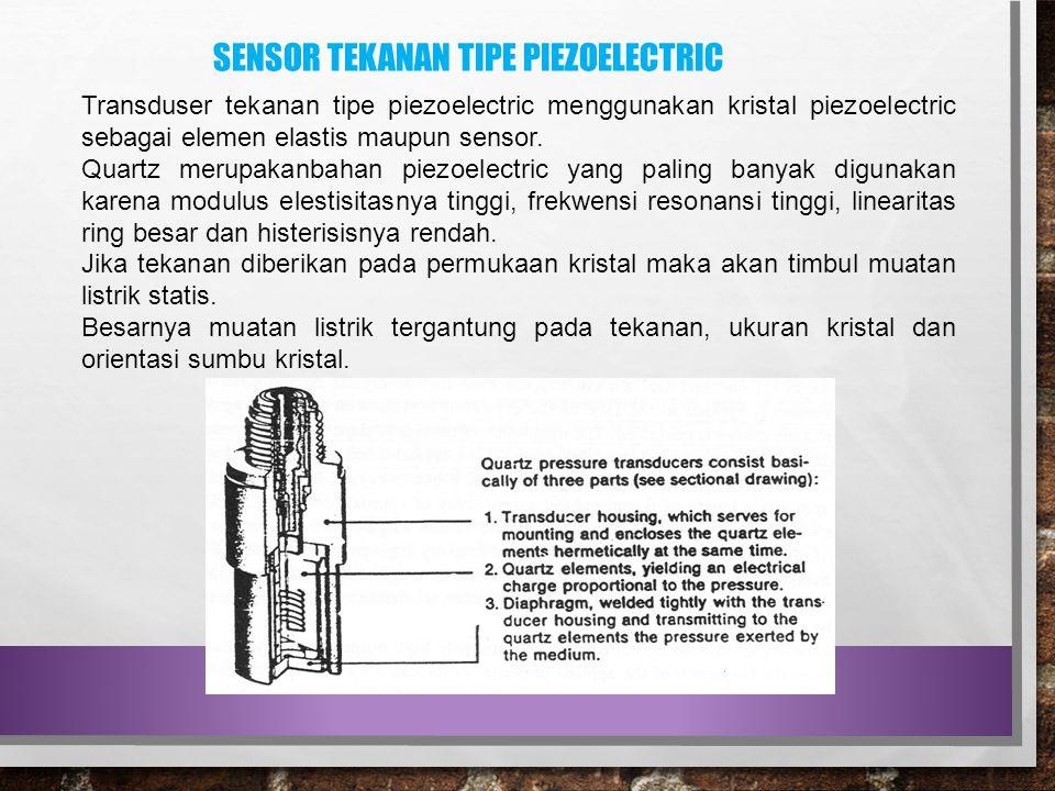 Sensor tekanan tipe piezoelectric