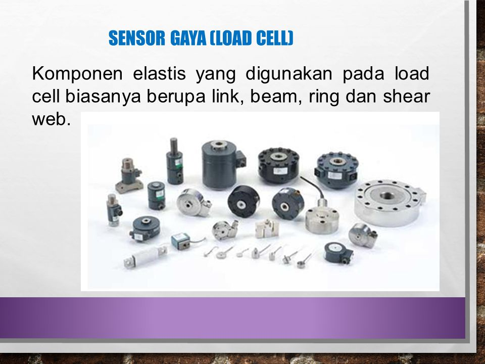 Sensor gaya (load cell)