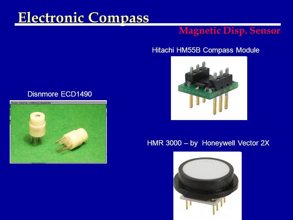 Electronic Compass Magnetic Disp. Sensor Hitachi HM55B Compass Module