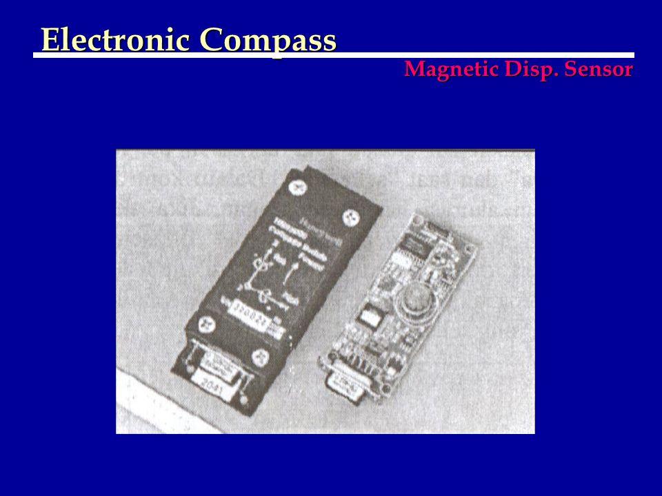 Electronic Compass Magnetic Disp. Sensor