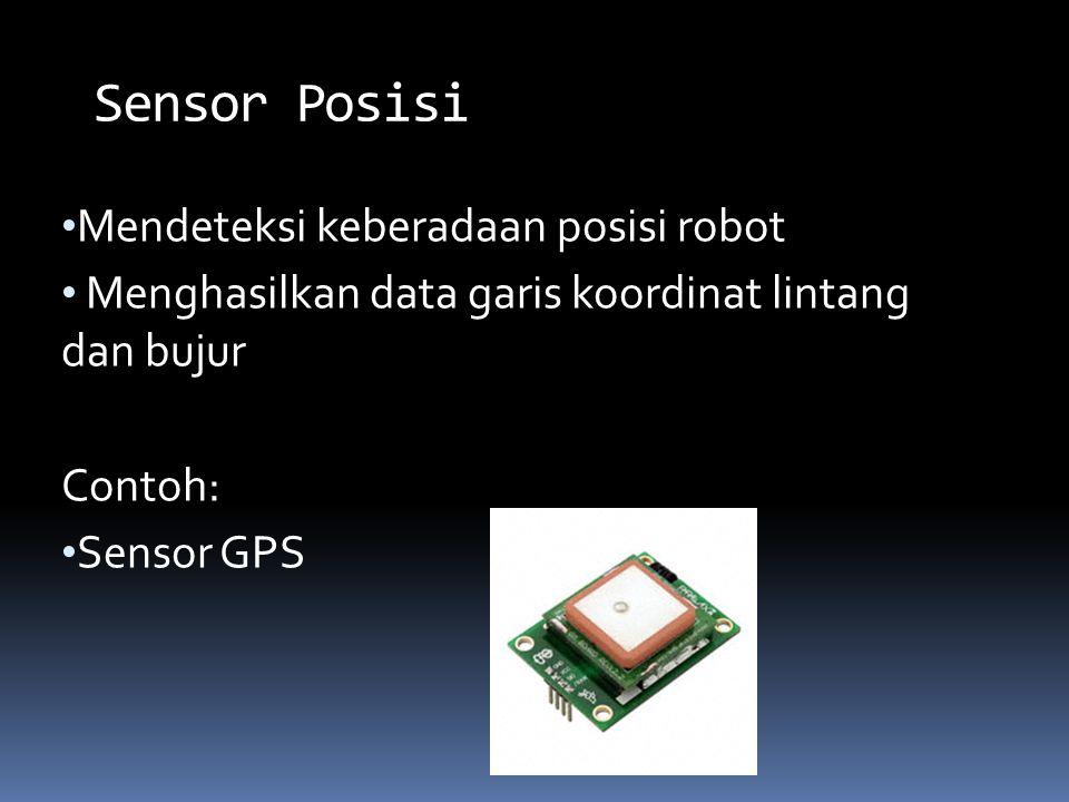 Sensor Posisi Mendeteksi keberadaan posisi robot