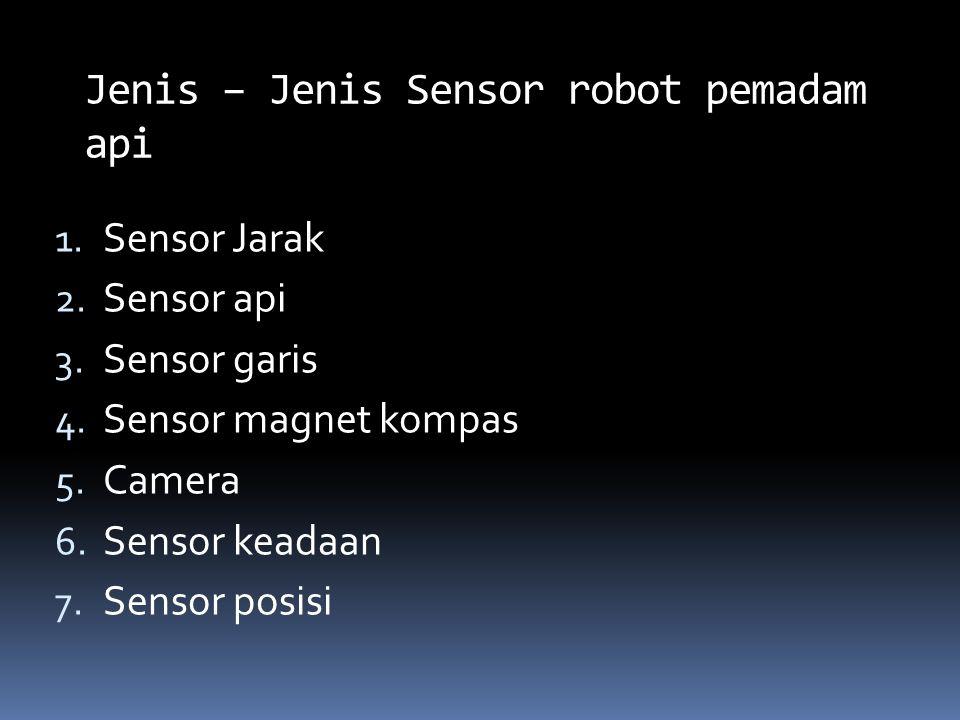 Jenis – Jenis Sensor robot pemadam api