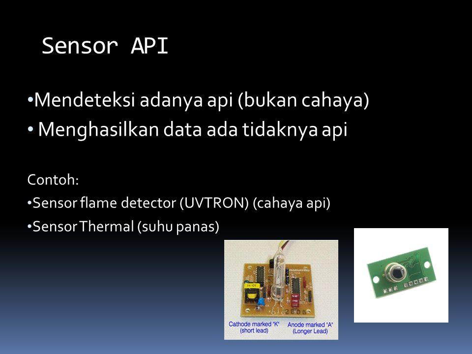 Sensor API Mendeteksi adanya api (bukan cahaya)