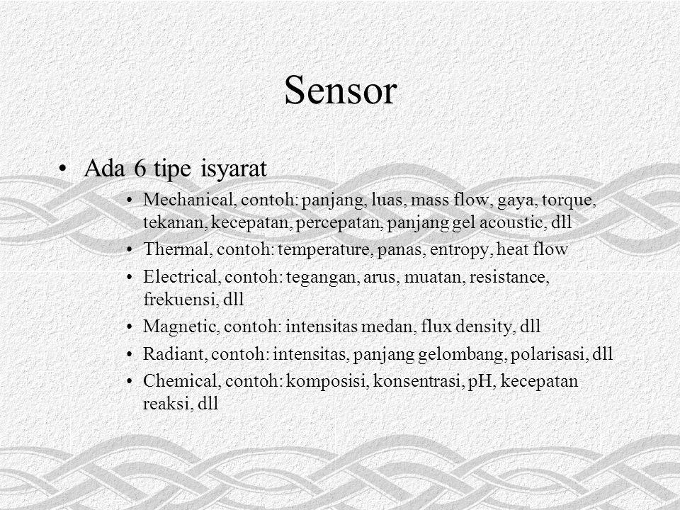Sensor Ada 6 tipe isyarat