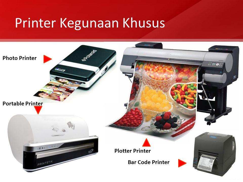 Printer Kegunaan Khusus