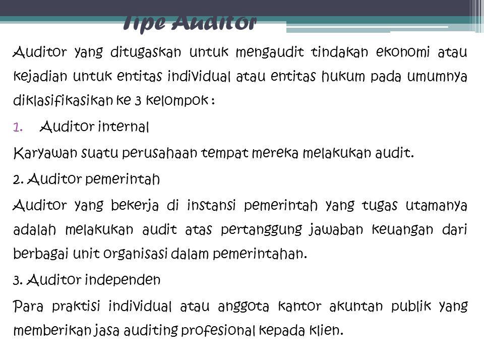 Tipe Auditor