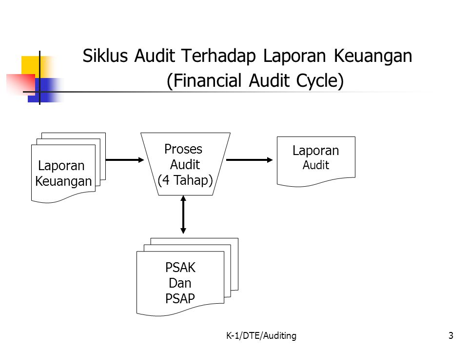 (Financial Audit Cycle)