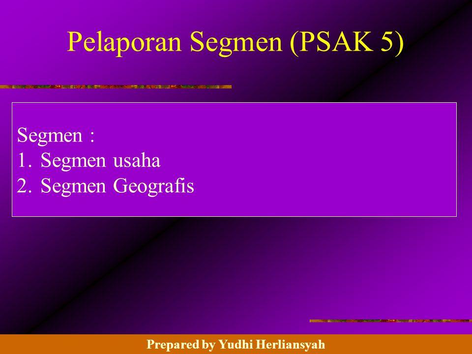 Pelaporan Segmen (PSAK 5)