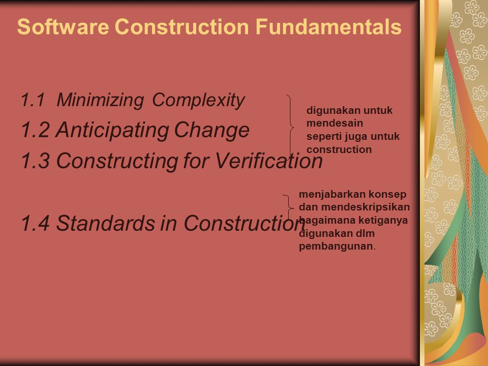 Software Construction Fundamentals