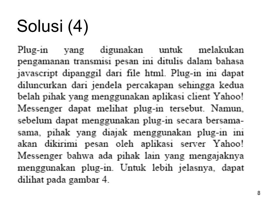 Solusi (4)