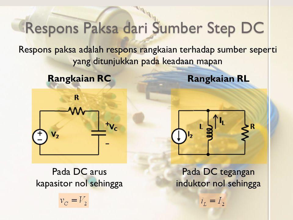 Respons Paksa dari Sumber Step DC