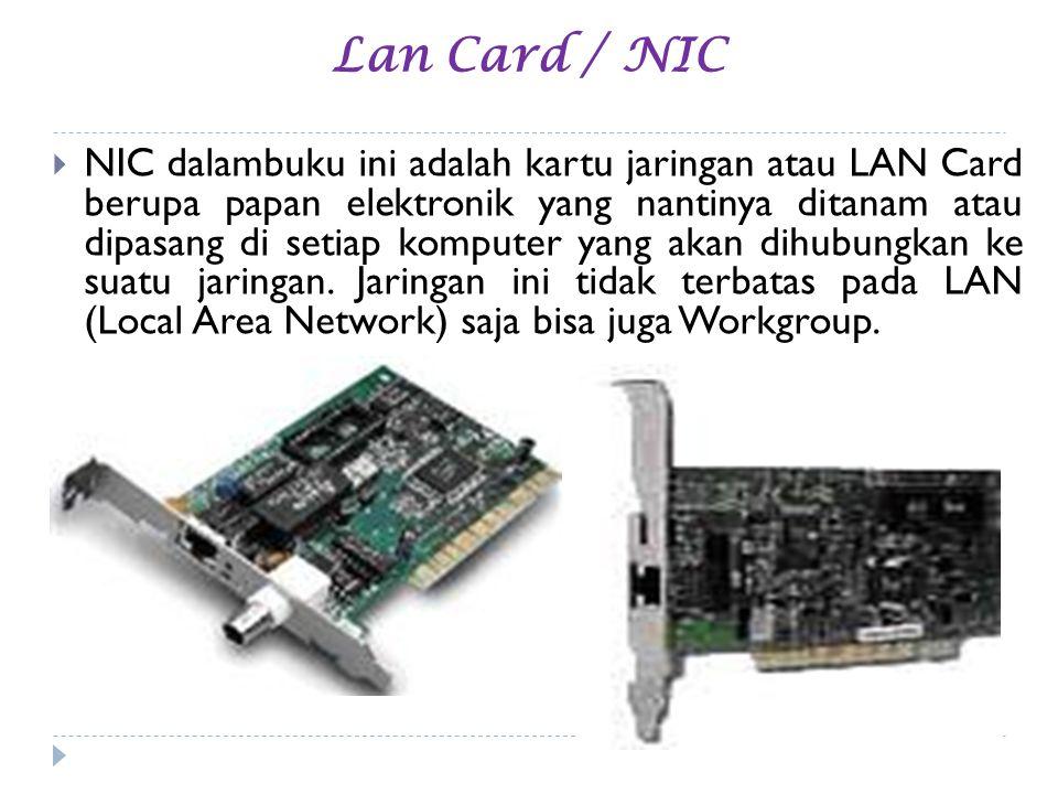 Lan Card / NIC