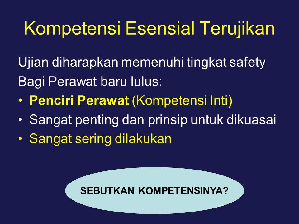 Kompetensi Esensial Terujikan
