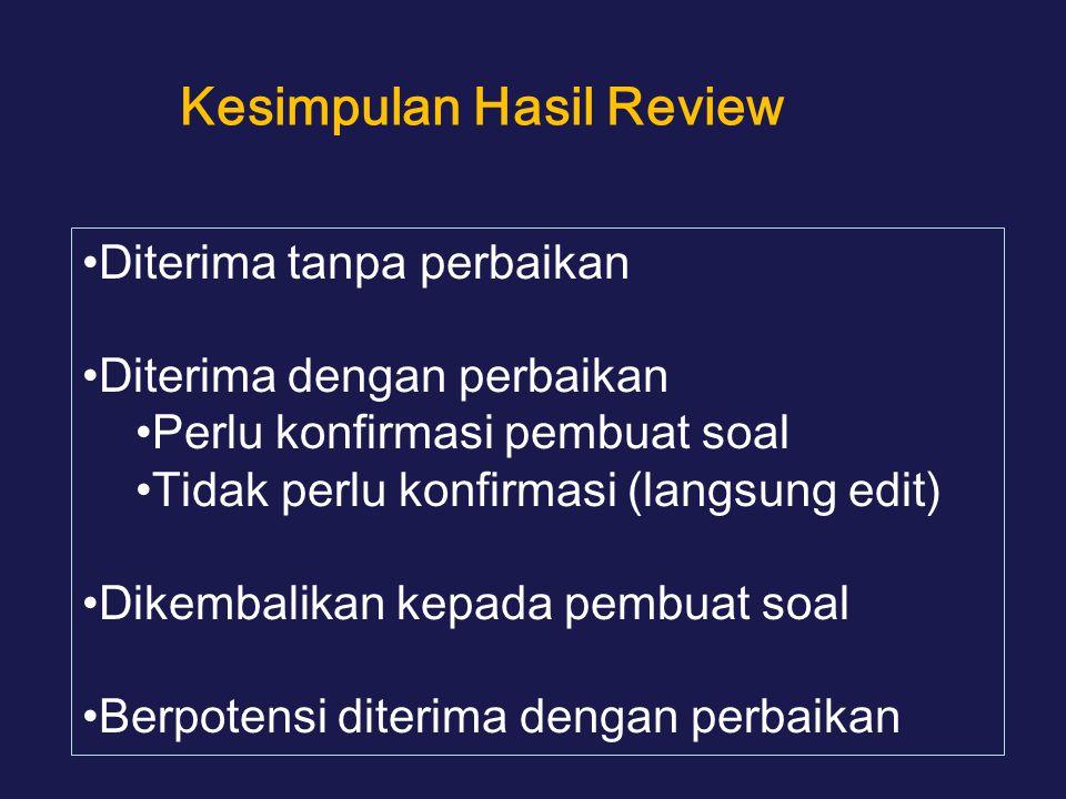 Kesimpulan Hasil Review