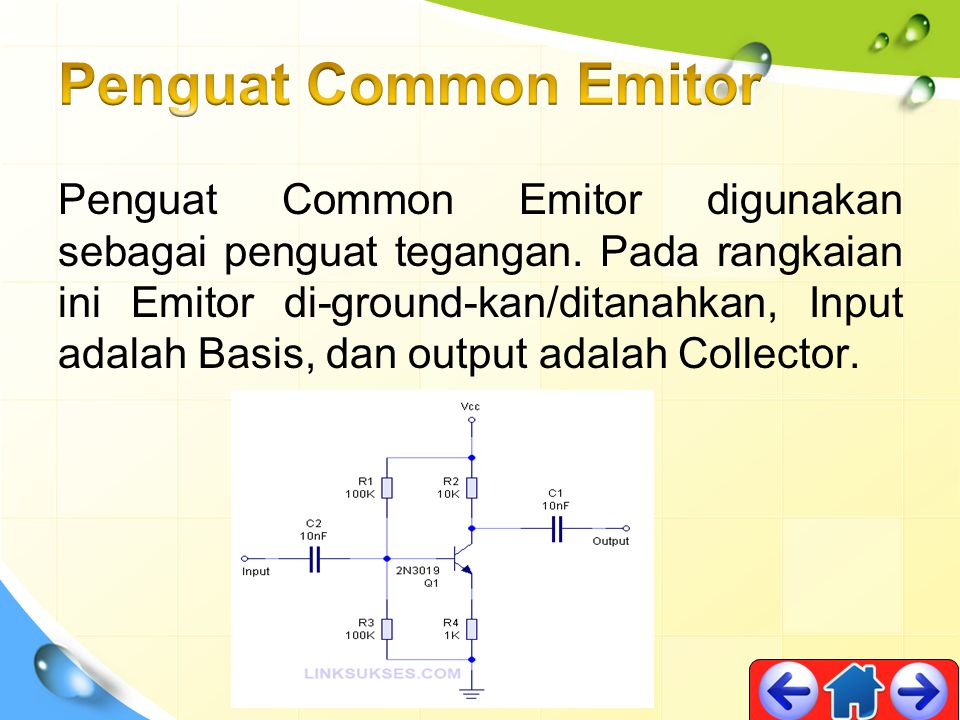 Penguat Common Emitor