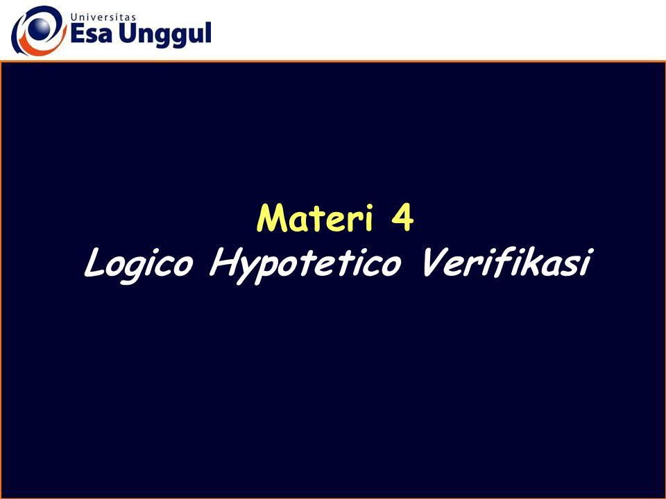 Logico Hypotetico Verifikasi