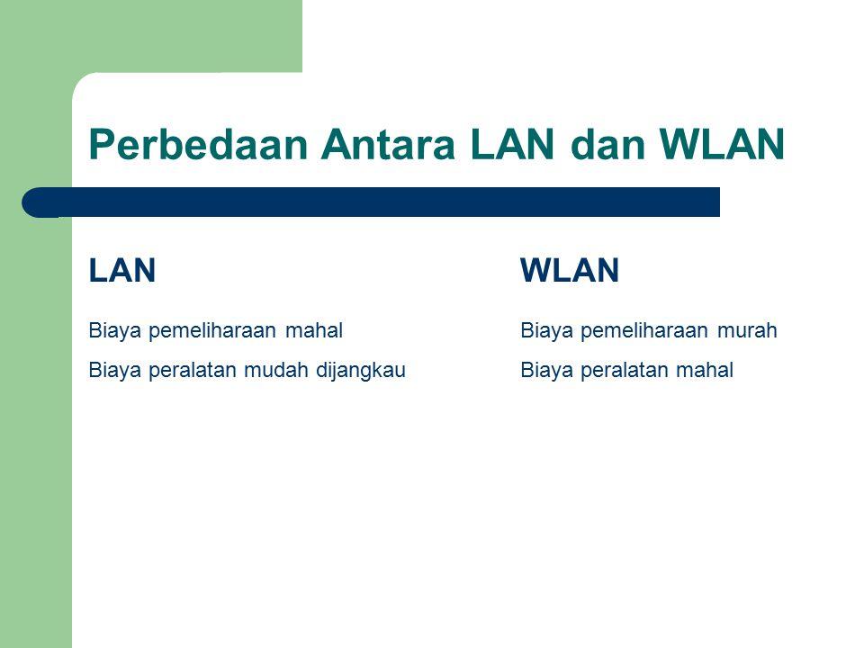 Perbedaan Antara LAN dan WLAN