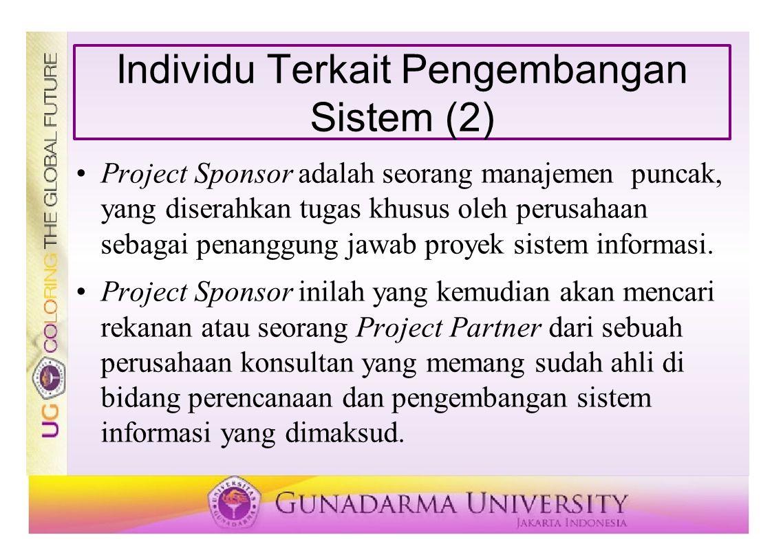 Individu Terkait Pengembangan Sistem (2)