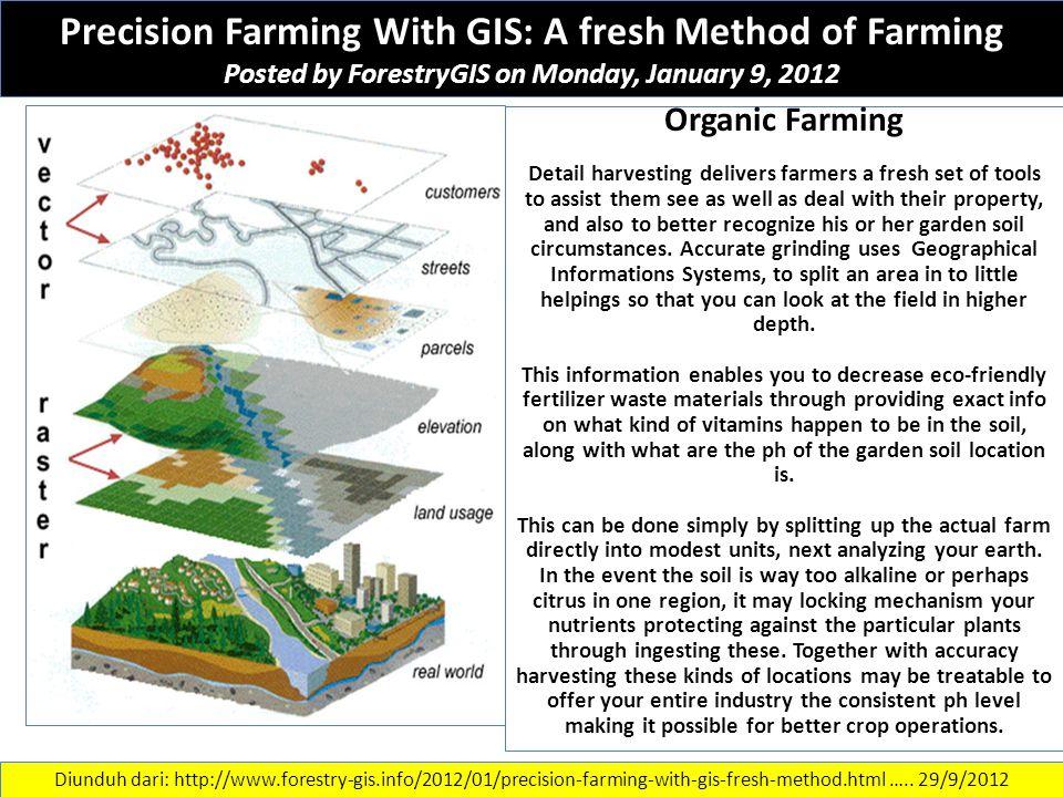 Precision Farming With GIS: A fresh Method of Farming