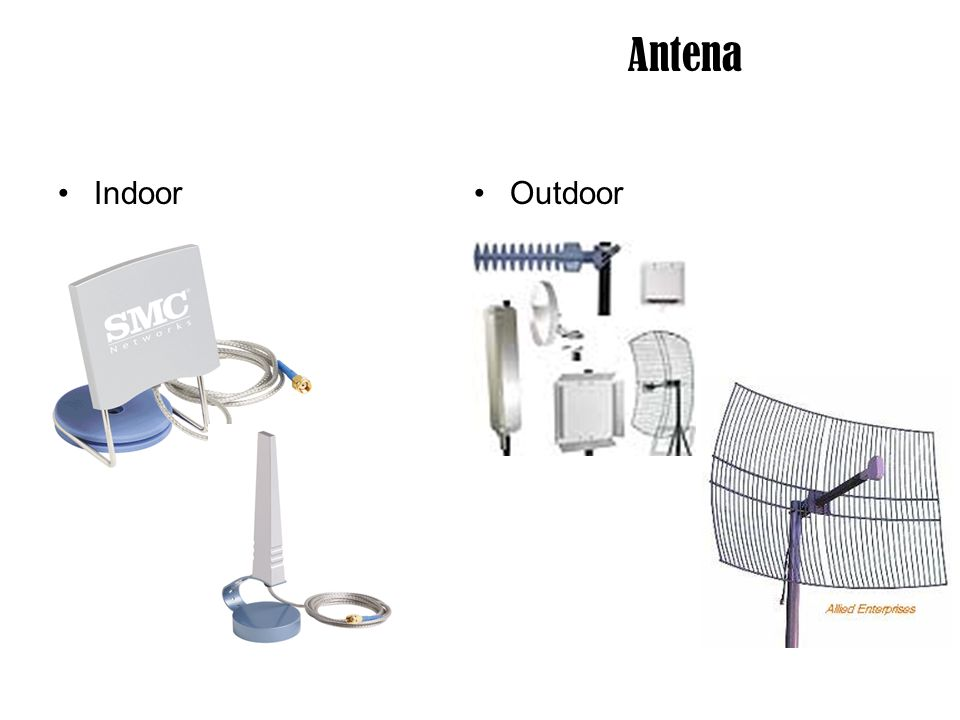 Antena Indoor Outdoor