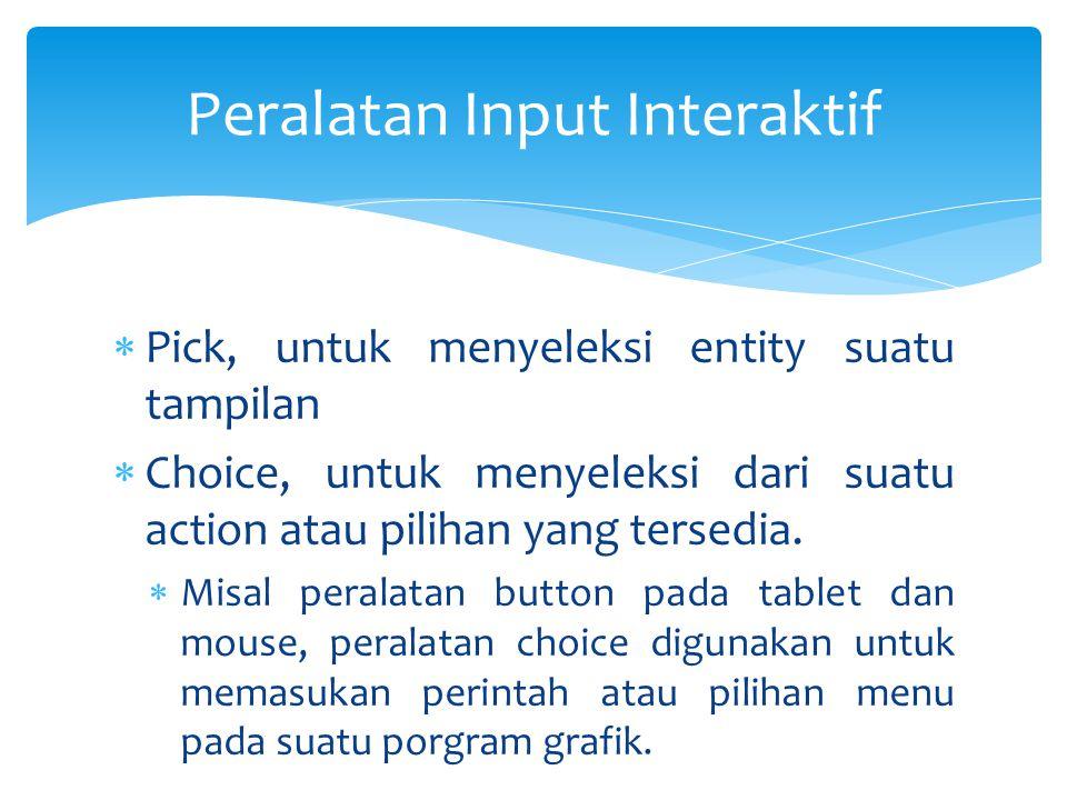 Peralatan Input Interaktif