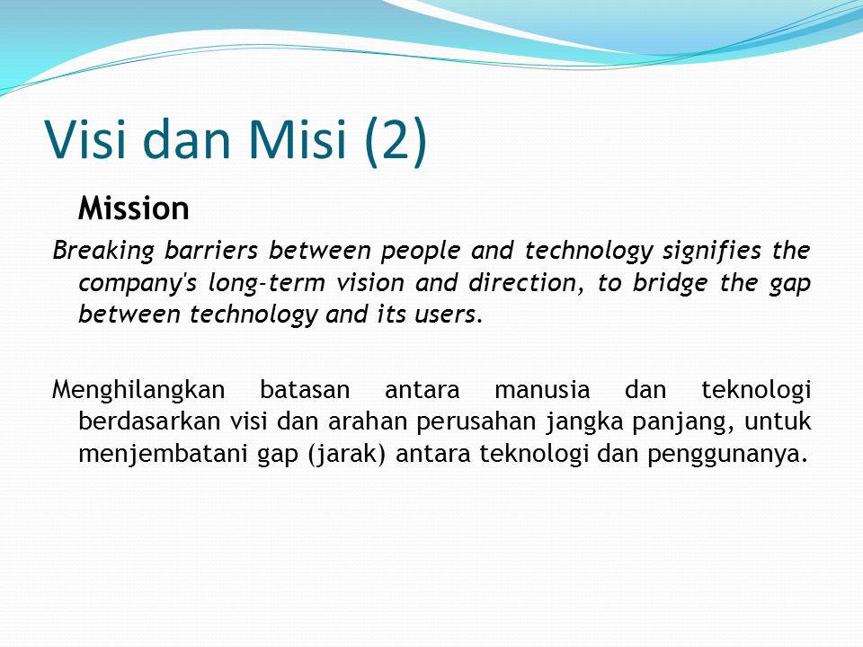 Visi dan Misi (2) Mission