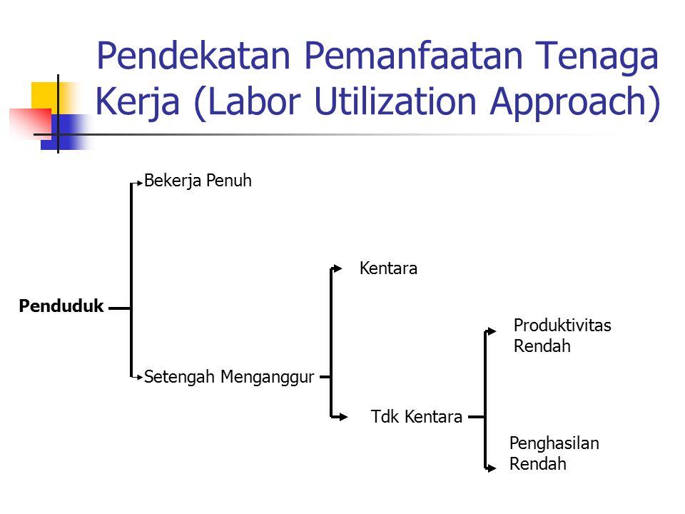 Pendekatan Pemanfaatan Tenaga Kerja (Labor Utilization Approach)