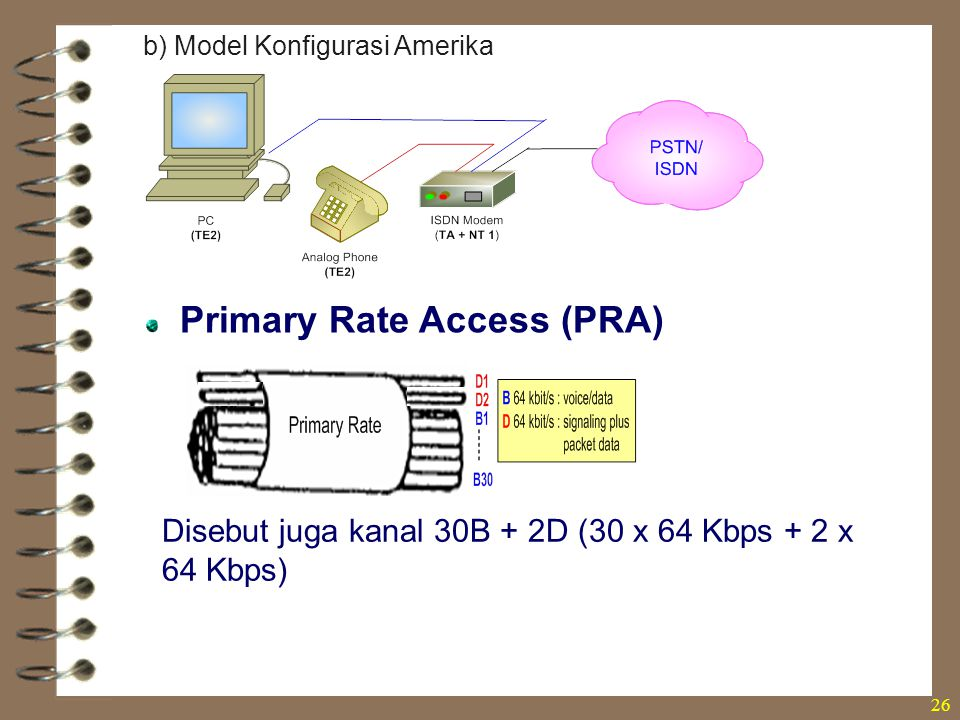 Primary Rate Access (PRA)