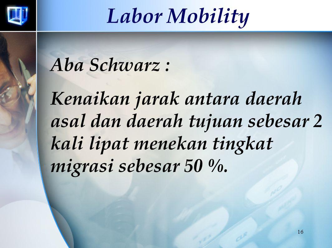 Labor Mobility Aba Schwarz :