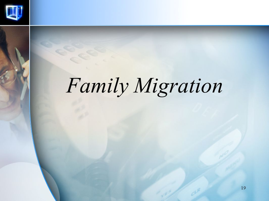 Family Migration