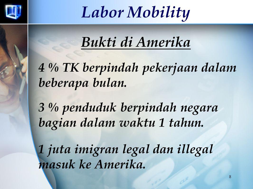 Labor Mobility Bukti di Amerika
