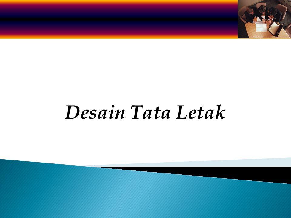 Desain Tata Letak