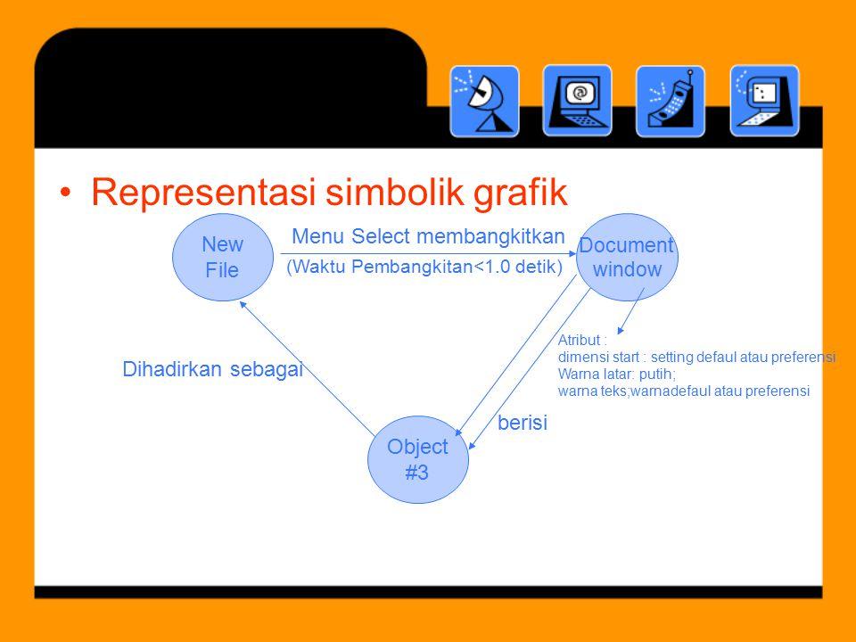 Representasi simbolik grafik