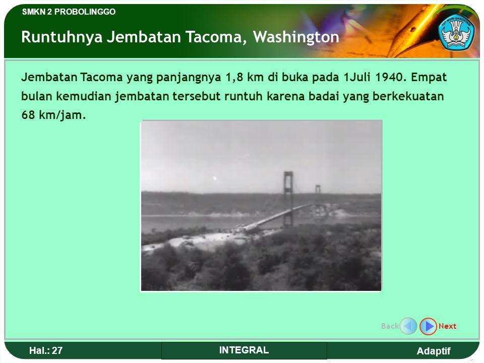Runtuhnya Jembatan Tacoma, Washington